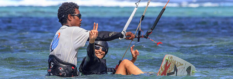 lean kitesurfing - Kitesurfing holidays for the whole family