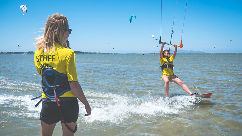 learn to kitesurf - Kitesurfing holidays for the whole family