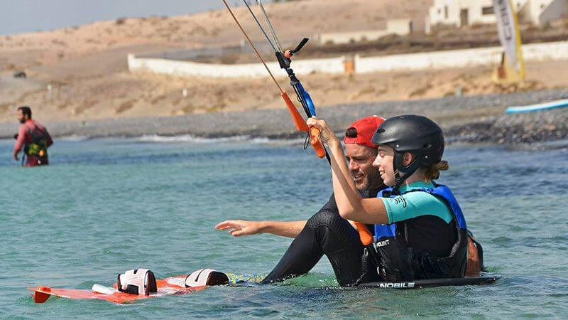 learning kitesurf 800x450 - Kitesurfing holidays for the whole family