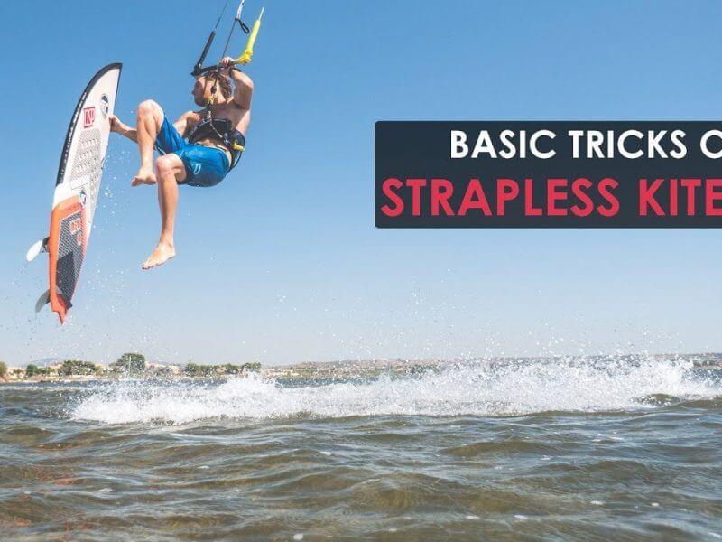 strapless kitesurf basic tricks 800x600 - Strapless Kitesurf - Basic Tricks