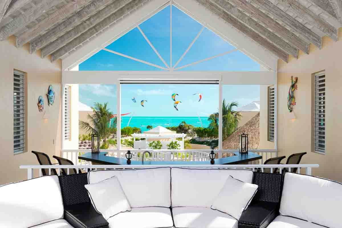 turks and caicos - Great flat water lagoons to learn to kitesurf