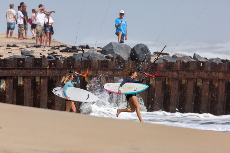 Girls Charging - The Cape Hatteras Wave Classic