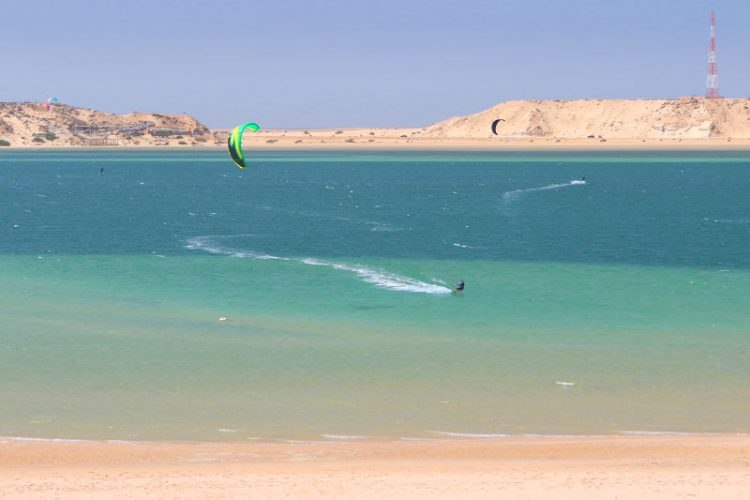 Dakhla lagoon kitesurf 750x500 - Hot destinations for 2018