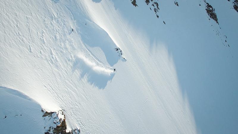 Matthias Haunholder Antarctica steep III Foto Johannes Aitzetmüller - NO MAN'S LAND: EXPEDITION ANTARCTICA