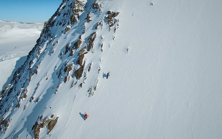 Matthias Haunholder Matthias Mayr Antarctica climbing2 Foto Johannes Aitzetmüller 720x450 - NO MAN'S LAND: EXPEDITION ANTARCTICA