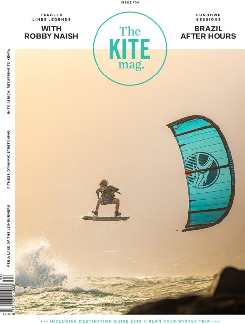 191030 TKM EN 34 COVER FINAL 500x661 - TheKiteMag International Magazine: 5 Issues, Tee & Cap
