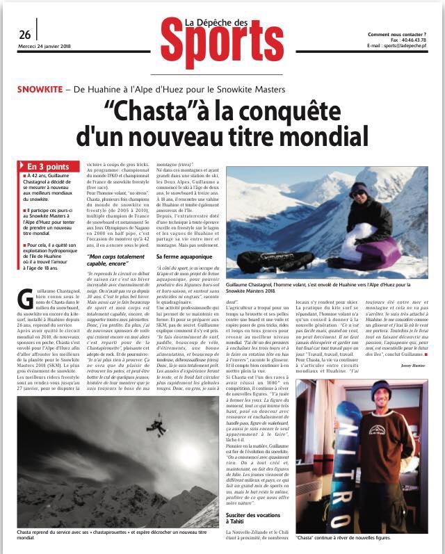 chasta 9 - Guillame Chastagnol joins Flysurfer
