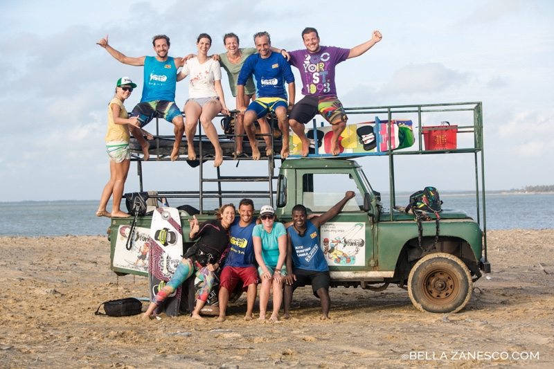 Dil goes forward 4 - Kitesurfing Sri Lanka: An Origin Story