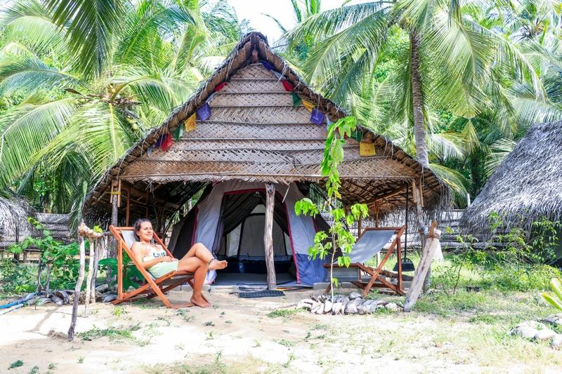 Tent 1 - Kitesurfing Sri Lanka: An Origin Story