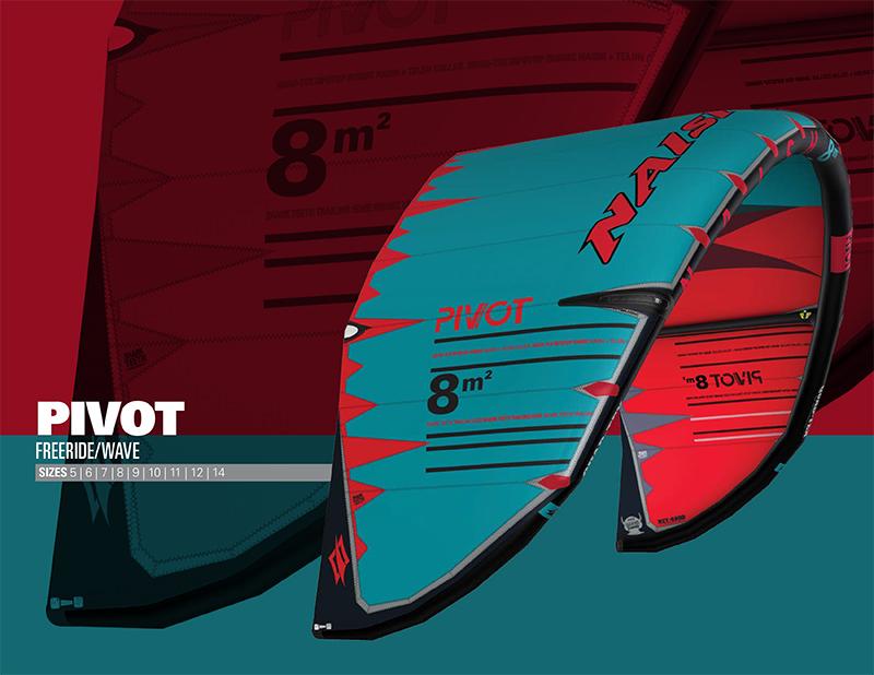 2019NaishKite Pivot - Naish Kiteboarding launch 2019 season