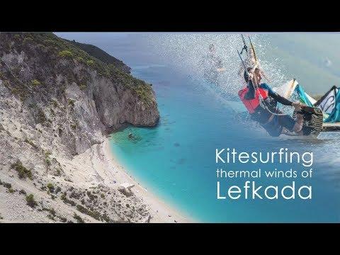 a kitesurfing adventure in unkno - A Kitesurfing Adventure in Unknown Greece