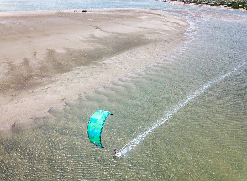 Atins Spot single Kiter 800x588 - Unique adventures for your next kiting holiday