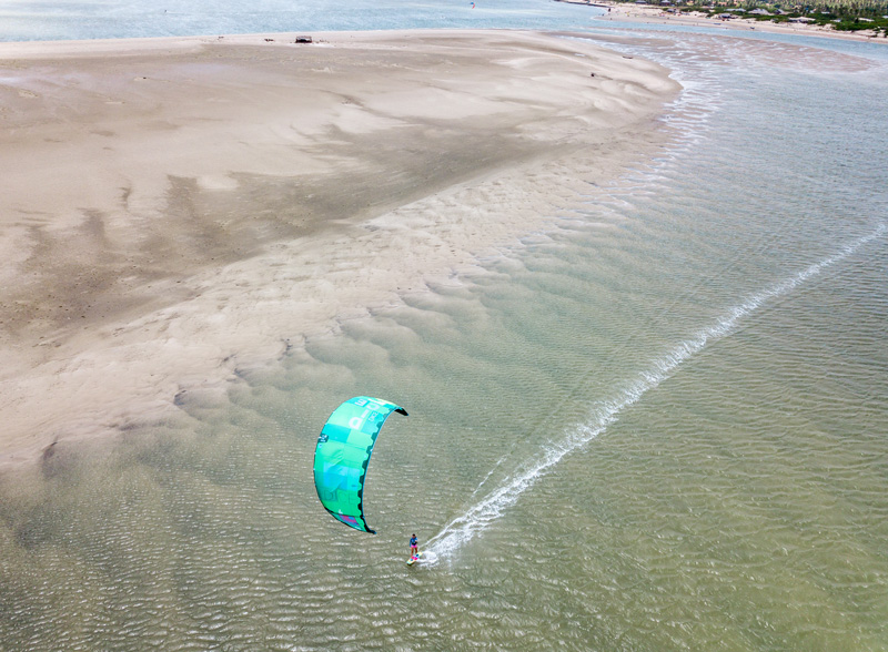 Atins Spot single Kiter - Unique adventures for your next kiting holiday