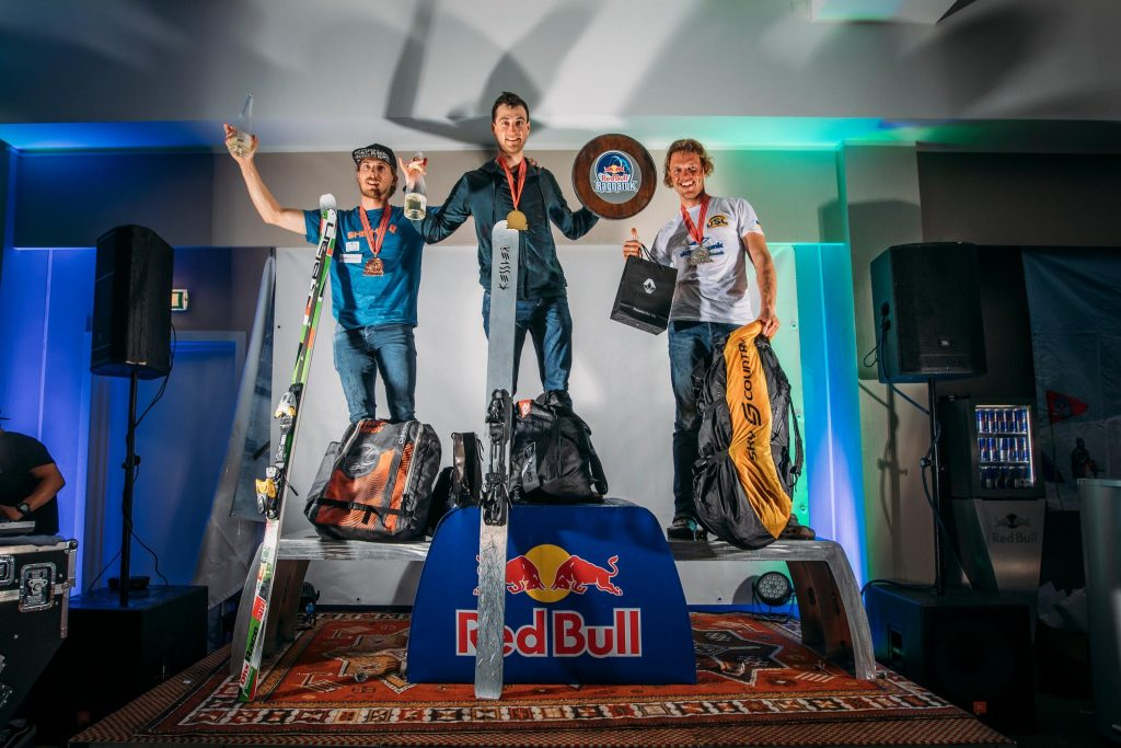 podium red bull ragnarok 2019 1 1024x683 - Double Gold for Peter Lynn riders Felix and Bruce!