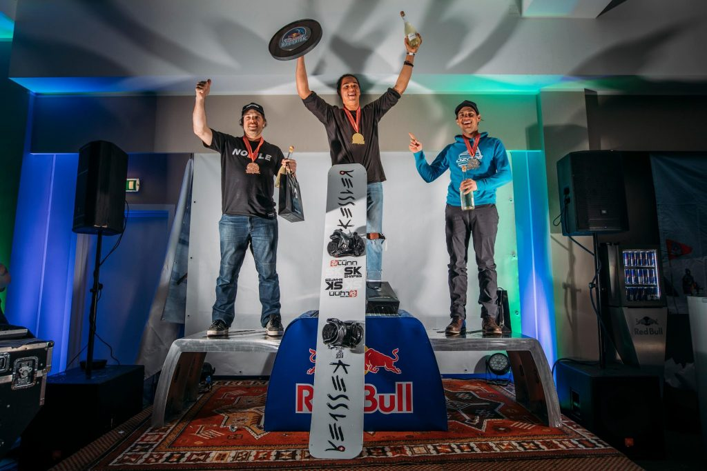 podium red bull ragnarok 2019 1024x683 - Double Gold for Peter Lynn riders Felix and Bruce!