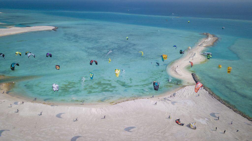 DJI 0022 1024x575 - Maldives Prepares for its Biggest Kitesurfing Event