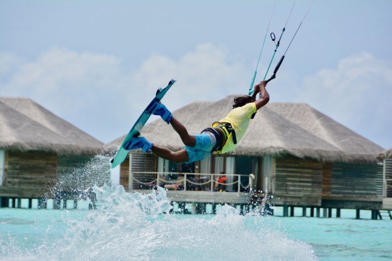 kitesurfing travel holiday maldives 795x530 - Top 5 luxury island kitesurf holidays