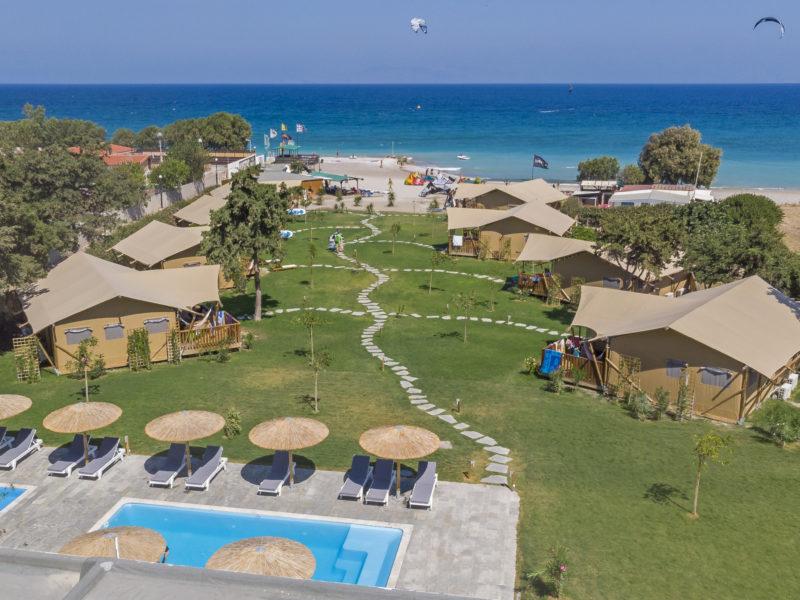 Drohne Anlage Beach 800x600 - Kite & Surf Theologos - Rhodes, Greece