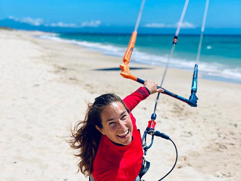 ION CLUB happy kitesurf beach girl copy 800x600 - ION Club - Various Destinations
