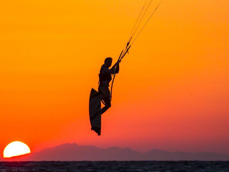 Sunset 1 800x600 - Kite & Surf Theologos - Rhodes, Greece