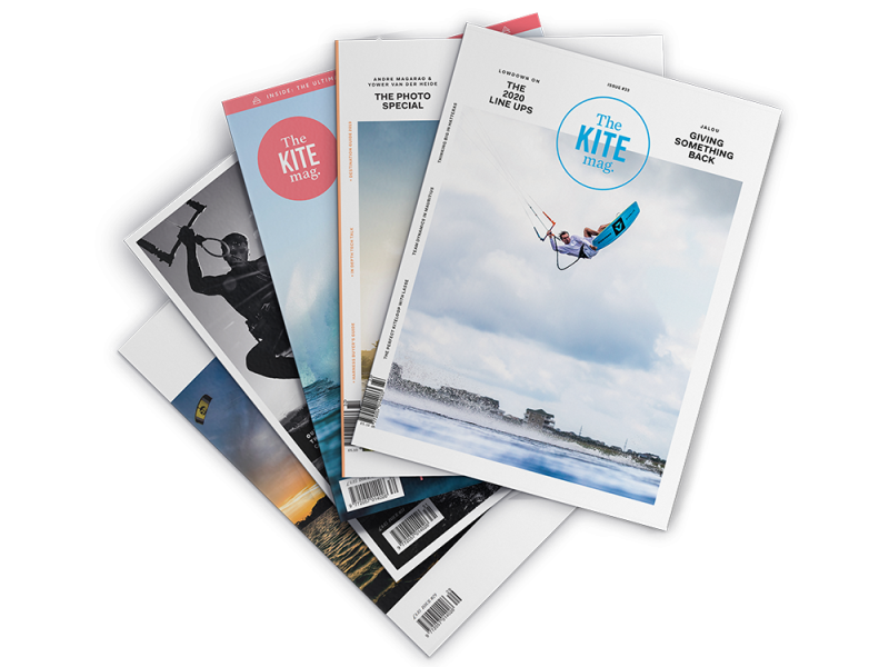 fanned out mags 1 800x600 - Every single issue of TheKiteMag... for FREE!