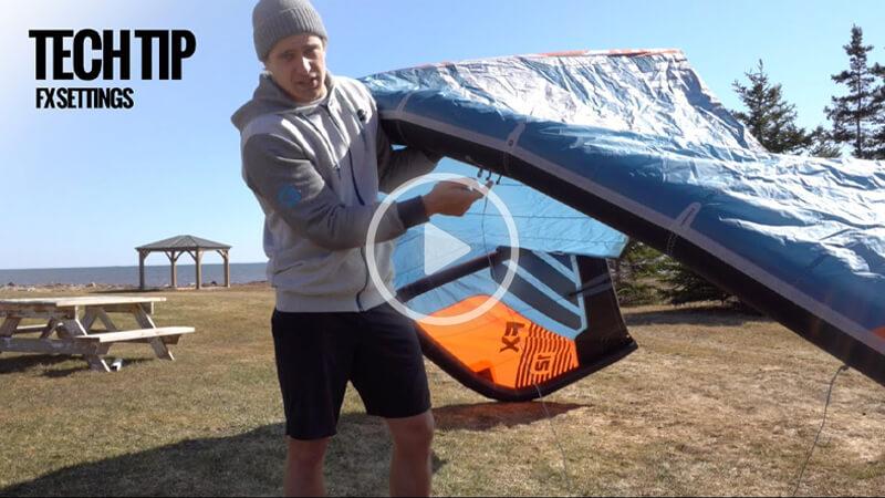 cabrinha 1 - Tuning your FX Kite Tech Tip