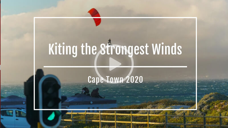 dirty 1 - Kiting the Strongest Winds of the Season in Cape Town