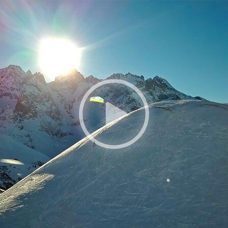 snow 1 450x450 - DORMILLOUSE - a snow kite adventure