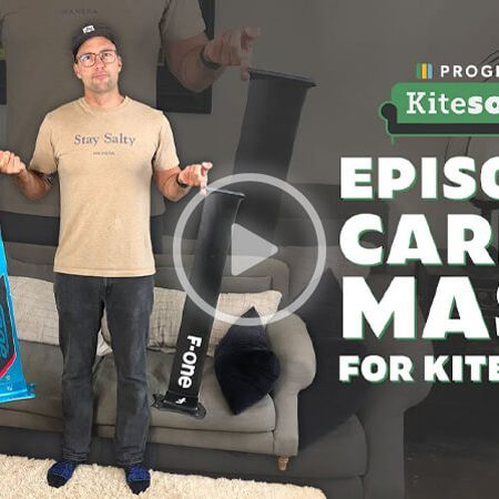 Carbon Masts for Kitefoiling