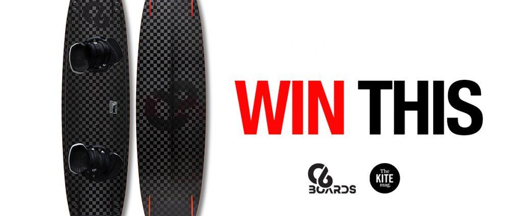 Win a C6 carbon fiber kiteboard