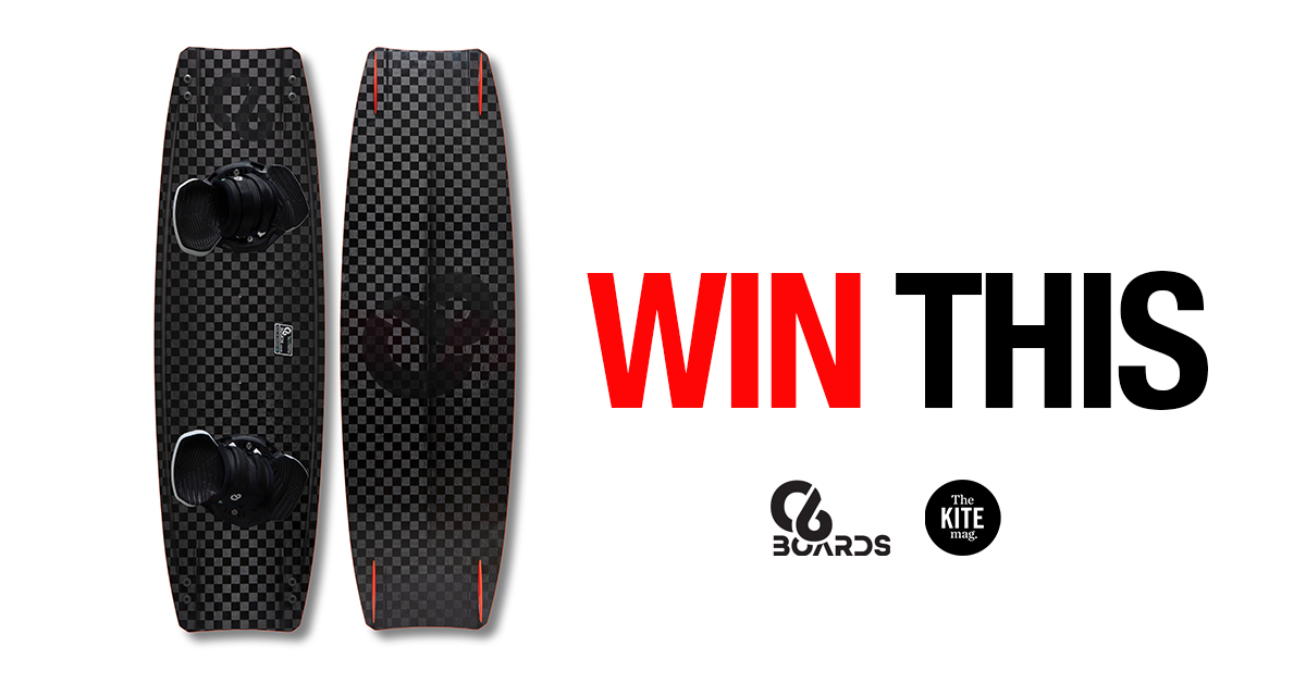 online contests, sweepstakes and giveaways - Win a C6 carbon fiber twin tip kiteboard valued at €1049!