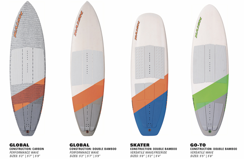naish boards1 - SAY ALOHA TO THE NEW S25 SURFBOARDS