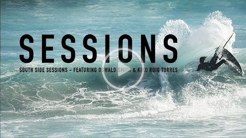airush sessions - South of Cape Town Wave riding Ft. Oswald Smith & Kiko Torres