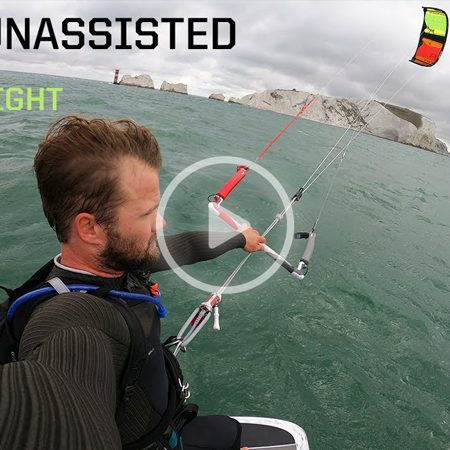 samlight copy 450x450 - Sam Light first unassisted solo kite foil around the Isle Of Wight