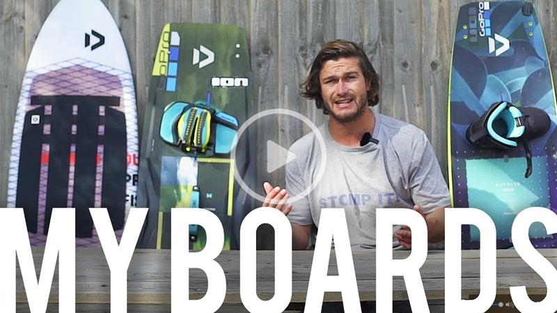 tom talks - Tom Court - My Full Board Quiver!!??