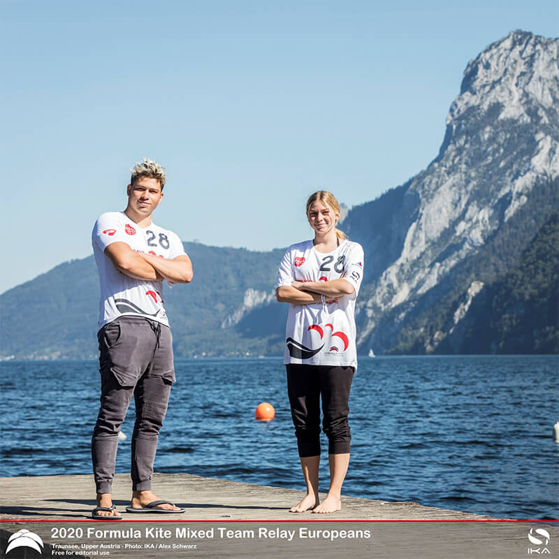 AUSTRIA KiteFoil 1 - UPPER AUSTRIA KiteFoil Grand Prix Traunsee 2020 - Day 1
