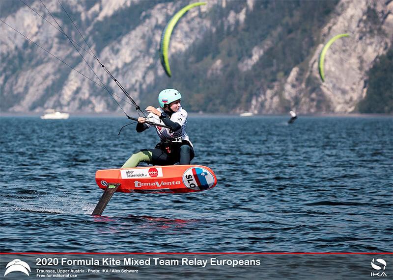 AUSTRIA KiteFoil 2 - UPPER AUSTRIA KiteFoil Grand Prix Traunsee 2020 - Day 1