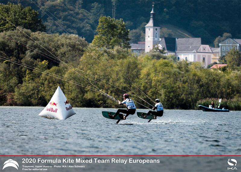 AUSTRIA KiteFoil 3 - UPPER AUSTRIA KiteFoil Grand Prix Traunsee 2020 - Day 1