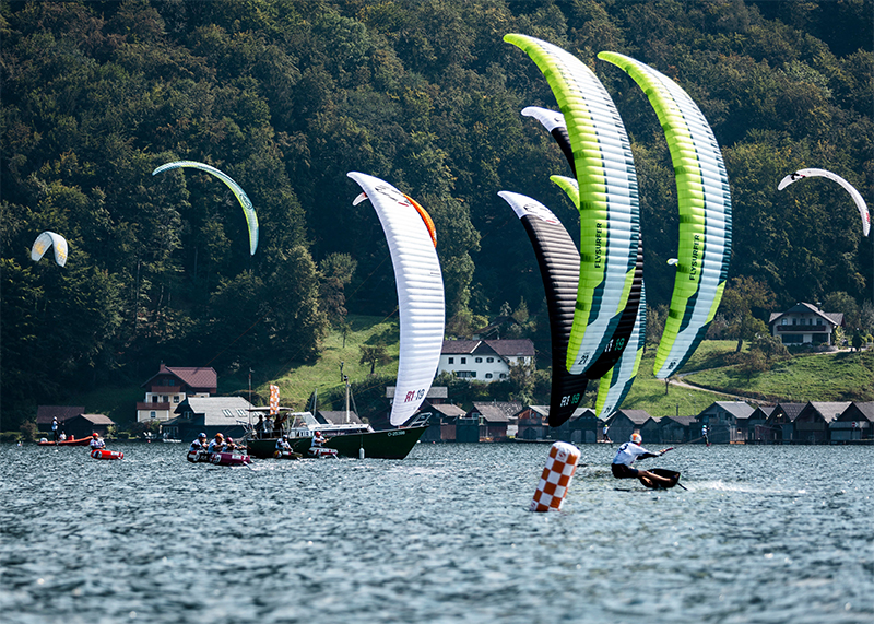 AUSTRIA KiteFoil FEATURE IMG - UPPER AUSTRIA KiteFoil Grand Prix Traunsee 2020 - Day 1
