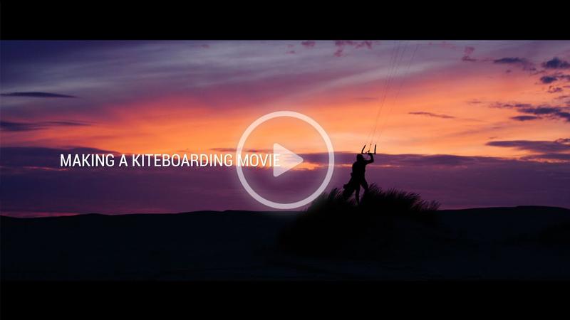 Making Of Naish - Making a Kiteboarding Movie - The Naish S25 shoot