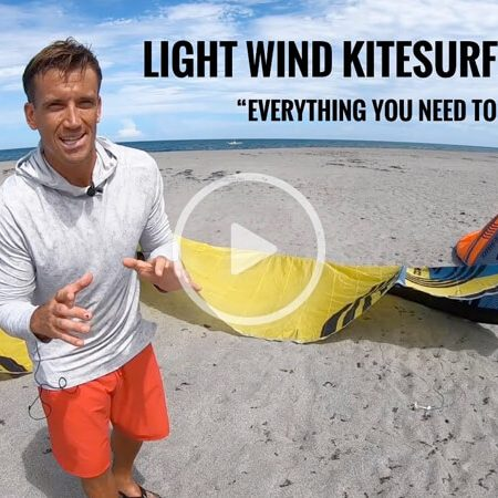 damiel leroy light wind 450x450 - Light wind KITEBOARDING tips!