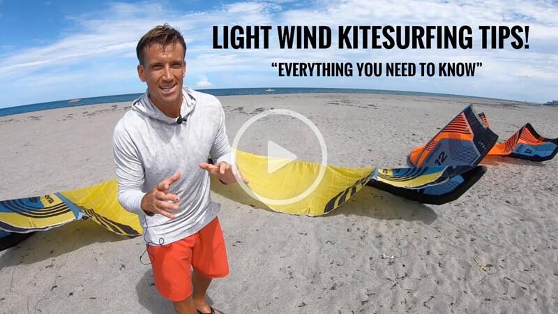 damiel leroy light wind - Light wind KITEBOARDING tips!