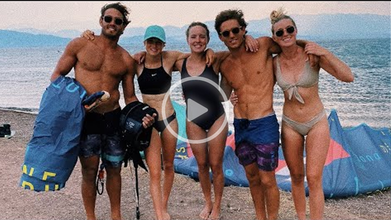 greece - Kitesurfing in Greece, a kitesurfing paradise  without Covid-19