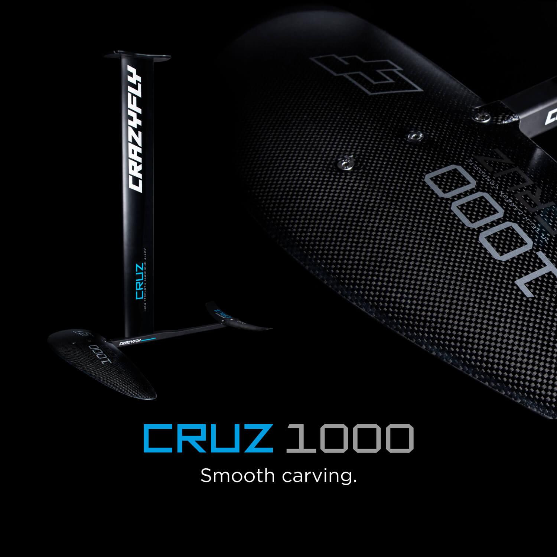 main slide 01 cruz 1000 - CrazyFly release the new Sculp kite and Cruz foil