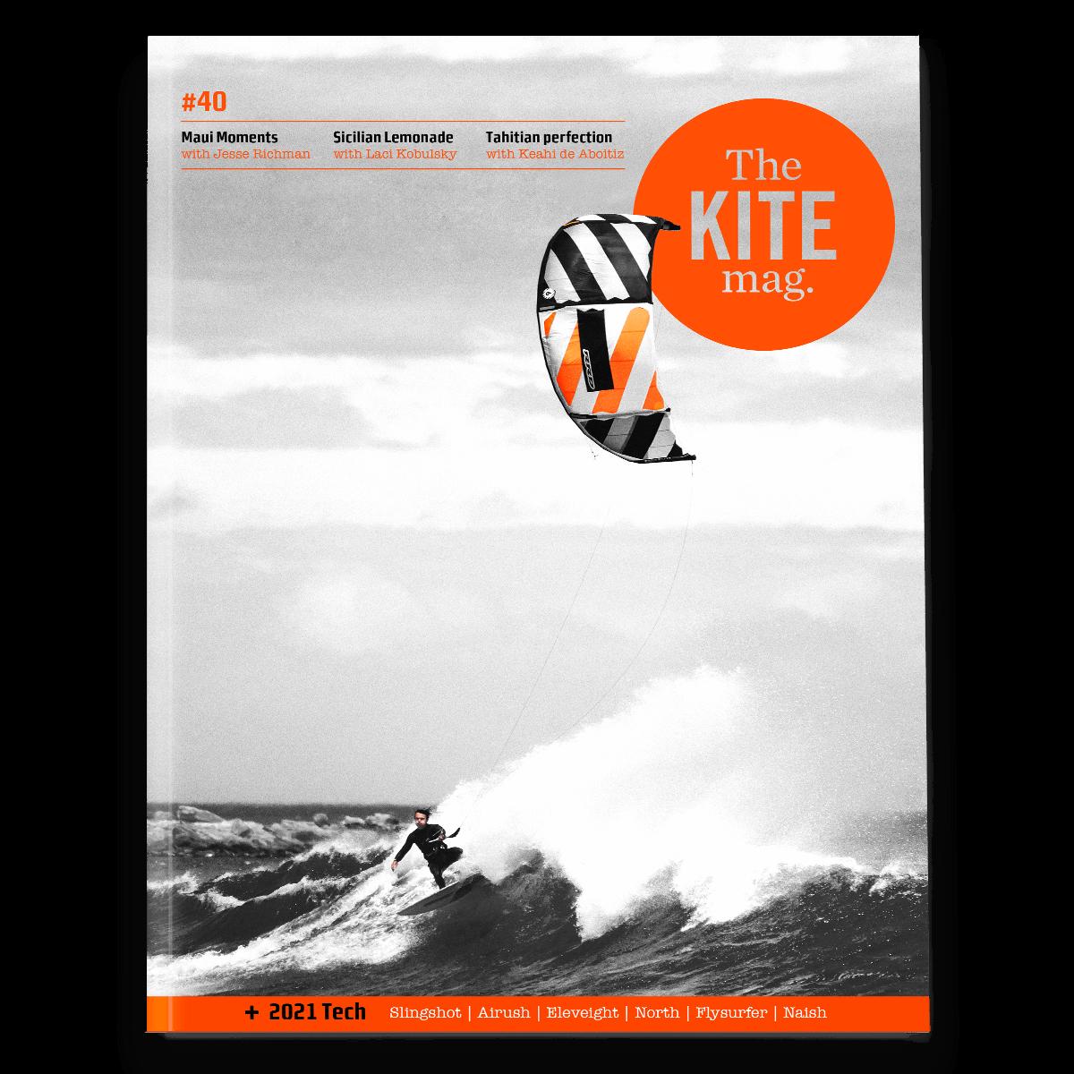 40 cover mockup no bar code - THEKITEMAG ISSUE #40