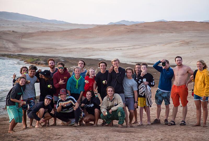 Group Team World Class Peru - Kite schooled