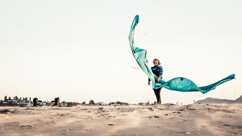 Polly in Langebaan by Jenna De Vries - Kite schooled
