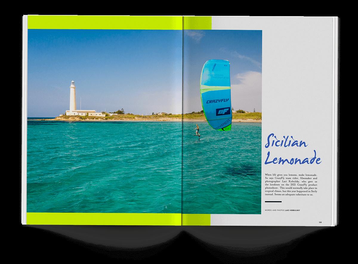 Sicilian Lemonade - THEKITEMAG ISSUE #40