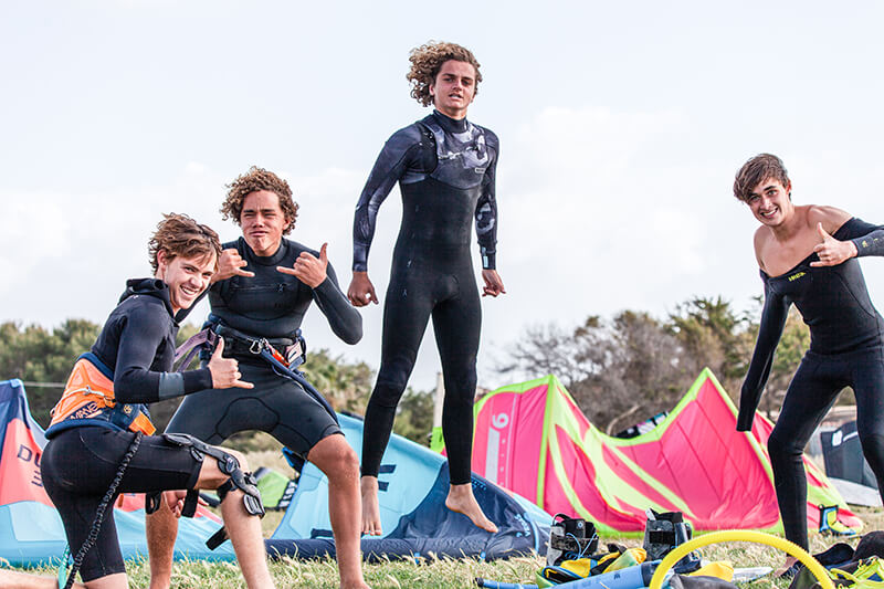 Students hyped in Sicily by Polly Crathorne  - Kite schooled