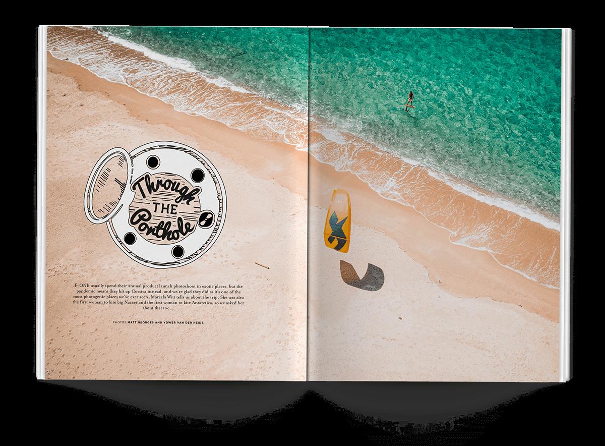 THROUGH THE Porthole - THEKITEMAG ISSUE #40